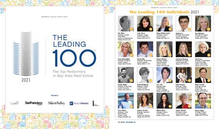 The Leading 100 San Francisco Magazine 2021 supplement